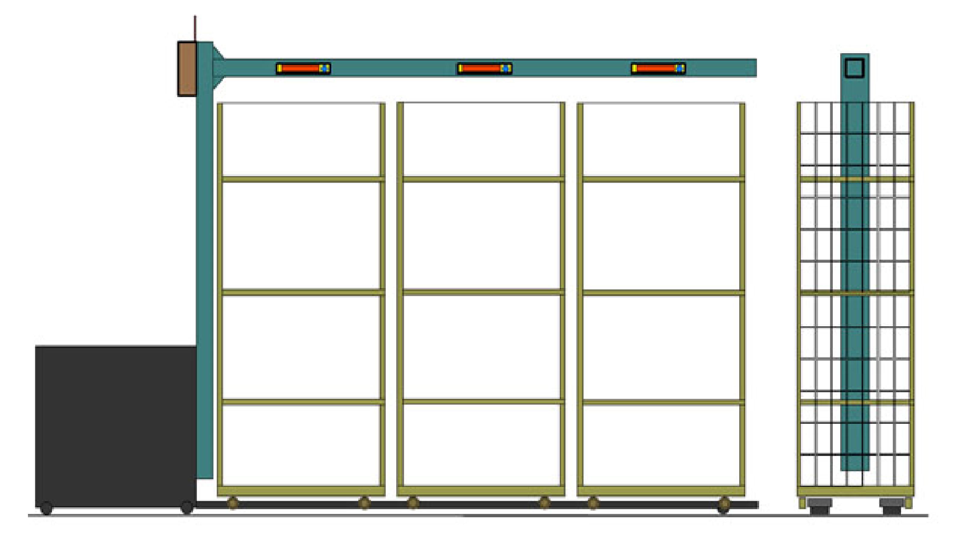 Electrotec, adapta los roll-containers para la preparación de pedidos con displays, Leds RGB y WIFI, reduce errores y costes un 60%