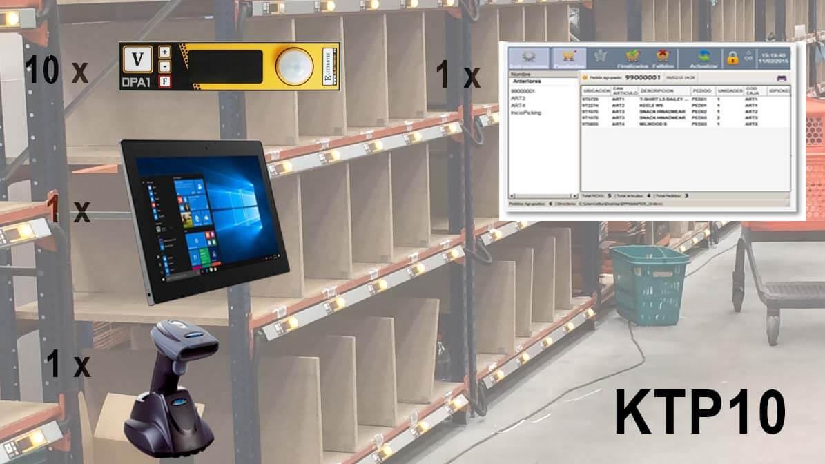 KIT clasificador de Pedidos KTP10