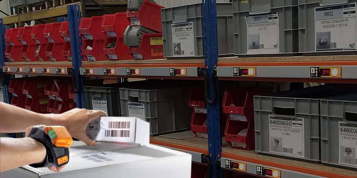 Electrotec, experto en soluciones de Picking con displays y Leds RGB